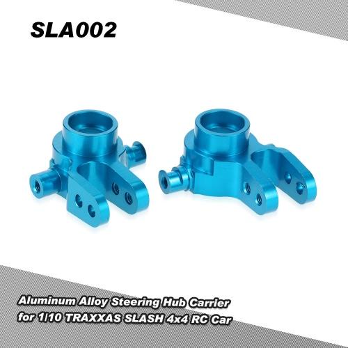 SLA002 Aluminiumlegierung Lenk Hub Carrier (L / R) für 1/10 TRAXXAS SLASH 4x4 RC Car