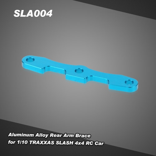 SLA004 Aluminum Alloy Rear Arm Brace for 1/10 TRAXXAS SLASH 4x4 RC Car