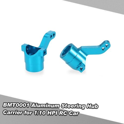 BMT0001 Aluminum Steering Hub Carrier for 1/10 HPI Bullet 3.0 MT ST WR8 RC Car
