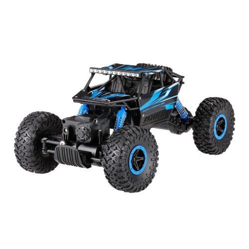 Original HB-P1802 2.4GHz 4WD 1/18 Scale Rock Crawler RC Car Blue