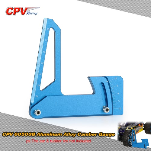 CPV 60503B Aluminum Alloy Camber Gauge for 1/10 RC Car