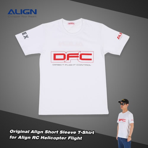 Original-Align HOC00204-1 Kurzarm T-Shirt für Align RC Hubschrauber-Flug