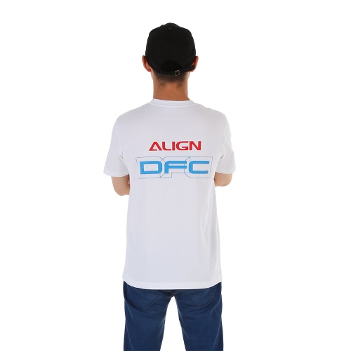 Original Align HOC00204-1 Short Sleeve T-Shirt for Align RC Helicopter Flight