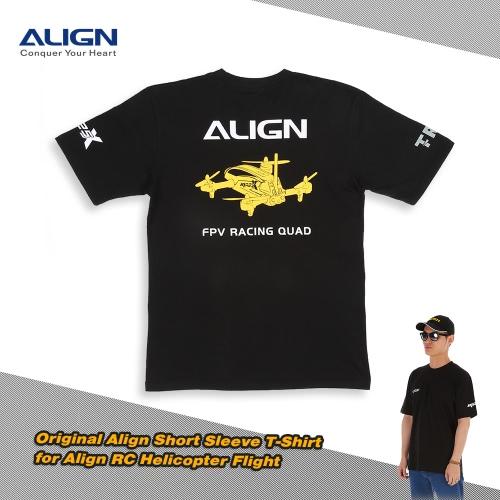 Original Align HOC00216 Short Sleeve T-Shirt for Align RC Helicopter Flight