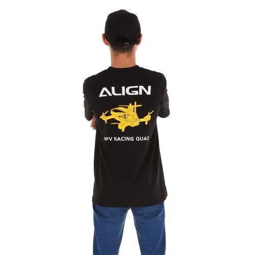 Original Ausrichten HOC00216 Kurzarm T-Shirt für Ausrichten RC Hubschrauber Flug