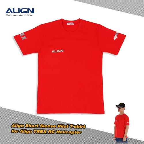 Original Align HOC00217 Short Sleeve Pilot T-shirt for Align TREX RC Helicopter