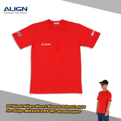 Originale manica corta Allinea HOC00218 Pilot T-shirt per Allinea MR25X FPV RC Quadcopter