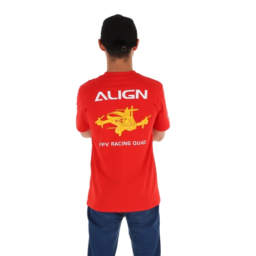 Originale Allinea T-shirt pilota a manica corta HOC00218 per allineare MR25X FPV RC Quadcopter