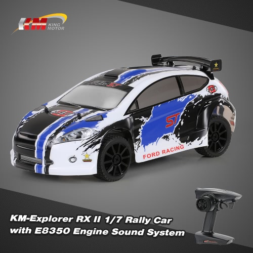 Original KllyM-Explorer RX II 1/7 2.4G 4WD Electric Brushless High Speed RC Ra Racing Car