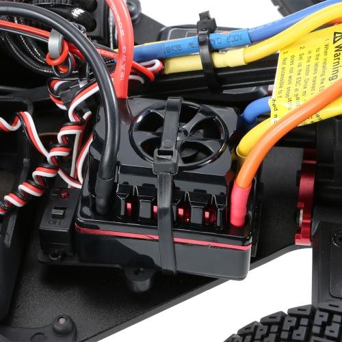 Оригинальный KM-Explorer RX II 1/7 2.4G 4WD Электрический бесщеточный High Speed RC Rally гоночный автомобиль с системой E8350 Engine Sound