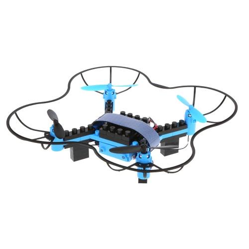 Flytec T11S Wifi FPV Macchina fotografica 0.3MP Drone 3D flip Modalità senza testa Modulo di costruzione DIY Building Altitudine G-sensor Quadcopter