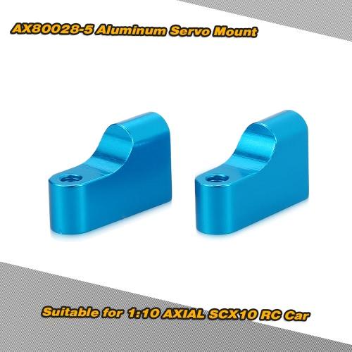 1時10 AXIAL SCX10 RCカー用2個AX80028-5アルミサーボマウントRCカーアクセサリー