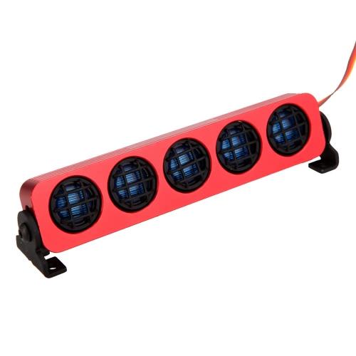 GoolRC AX-509BL LED ultra luminosa luce della lampada per 1/8 1/10 HSP Traxxas TAMIYA Axial SCX10 Monster Truck Breve Corso di RC auto