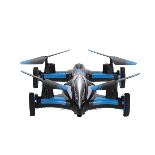 JJRC H23 Air-Ground Flying Car 2.4G 4CH 6-Axis Gyro  RC Drone RTF Quadcopter with 3D Flip One-key Return and Headless Mode