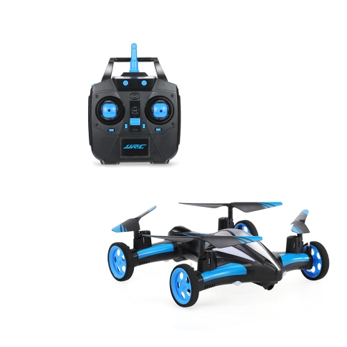 JJRC H23 Air-Ground Flying Car 2.4G 4CH 6 axes Gyro RC Drone RTF Quadcopter avec 3D Flip One-key Return et Headless Mode