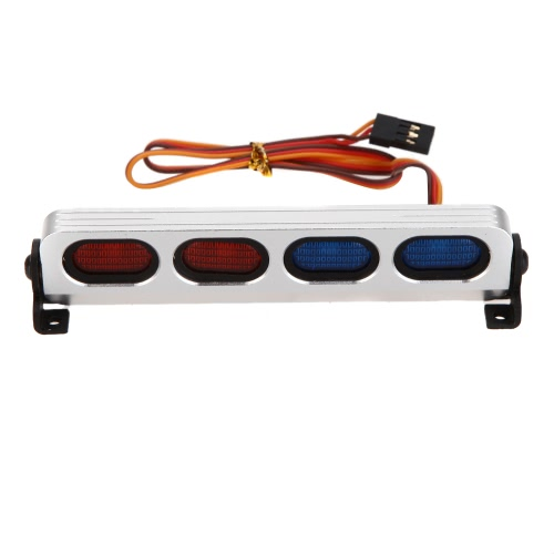GoolRC AX-508BL Ultra Brillante Luz de la lámpara LED para 1/8 1/10 HSP Traxxas TAMIYA Axial SCX10 Monstruo Camión Corto Curso RC Car