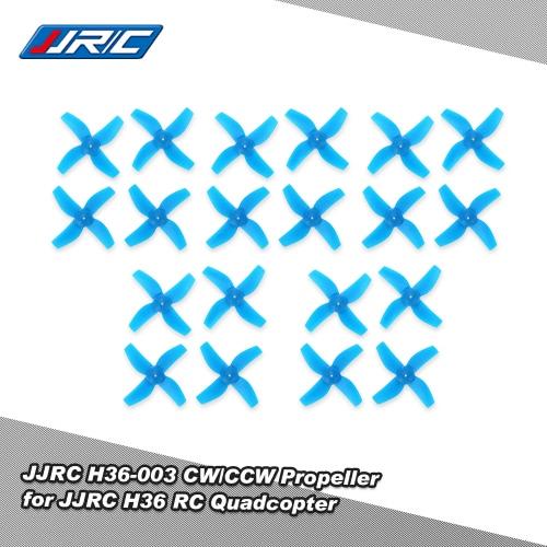 Inductrix JJR / C H36 RCクワッドローターのための10ペアオリジナルJJR / C H36-003 CW / CCWプロペラ