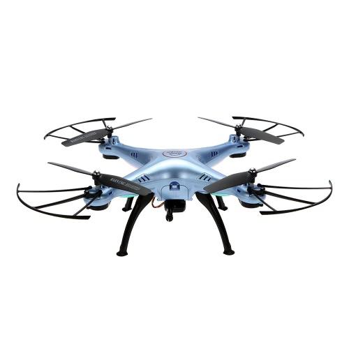 SYMA X5HW 0.3MP Camera Wifi FPV Drone Hauteur Hold CF Mode Quadcoper RC avec une batterie supplémentaire RTF