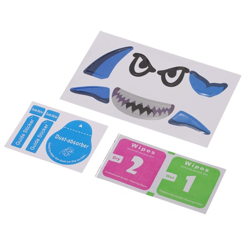 Shark Decoration impermeabile Decal Sticker per DJI Mavic Pro Drone FPV