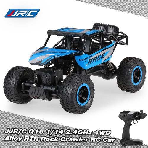 Original JJR/C Q15 1/14 2.4GHz 4WD Alloy RTR Rock Crawler Off-road Vehicle RC Car
