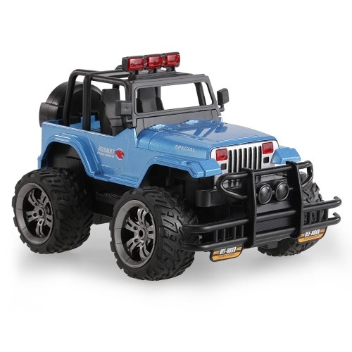HUINA TOYS 1359-9 Snow Leopard Gravity Sensing Programmable Buggy 2.4G 1/20 Alloy RC Off-road Car with Music and Light