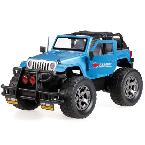 HUINA SPIELZEUG 1309-9 2.4G Aluminiumlegierung 1/12 programmierbare Musik Off-Road RC Buggy Auto G-Sensor offener Tür-Metall-LKW