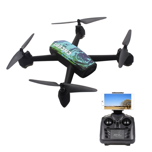 JXD 518 2.4G 720 P Caméra Wifi FPV GPS Positionnement Altitude Tenir RC Quadcopter