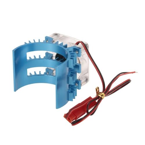 SUPERPASS HOBBY Dissipateur de chaleur moteur avec ventilateur de refroidissement pour 1/10 HSP HPI Wltoys Kyosho TRAXXAS moteur brossé sans brosse de 36 mm