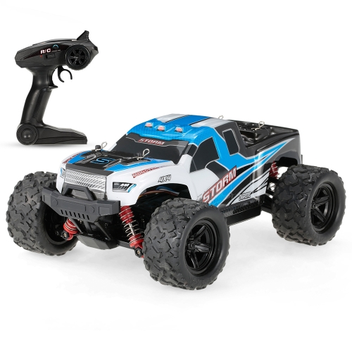 Linxtech HS18301 1/18 2,4 GHz 4WD 36 km / std High Speed Monster Truck Buggy RC Off-Road Rennwagen Fahrzeug Kinder Spielzeug Geschenk