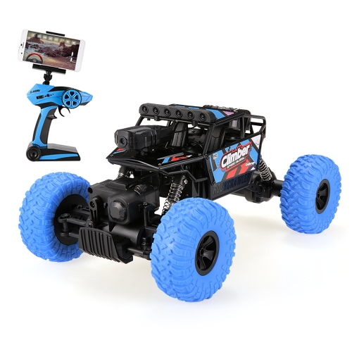 JJRC (JJR/C) Q45 480P Camera WiFi FPV 2.4G 4WD RC Rock Crawler Off-Road Buggy Car