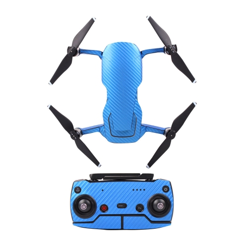 Protective Sticker Skin Cover Waterproof Sticker Carbon Fibre Pattern for DJI Mavic AIR RC Drone and Remote Controller