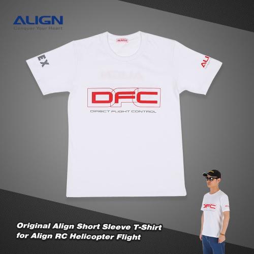 Original Align HOC00204-1 T-shirt à manches courtes pour aligner RC Helicopter Flight