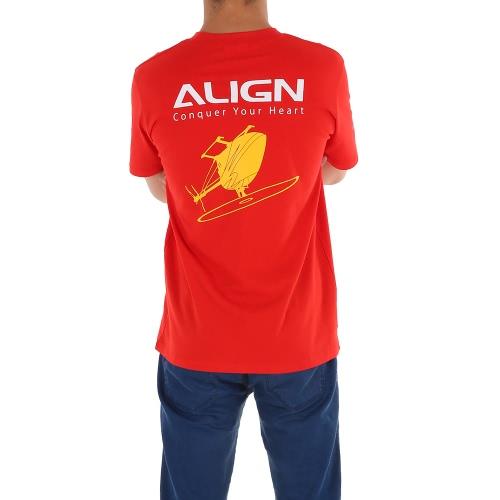 Oryginalny wyrównaj koszulkę z krótkim rękawem HOC00217 dla wyrównania śmigłowca RC TREX RC