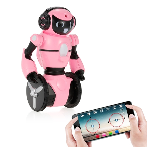Wltoys F4 0.3MP Camera Wifi FPV APP Control Intelligent G-sensor Robot Super Carrier RC Toy Gift for Children Kids   Entertainment