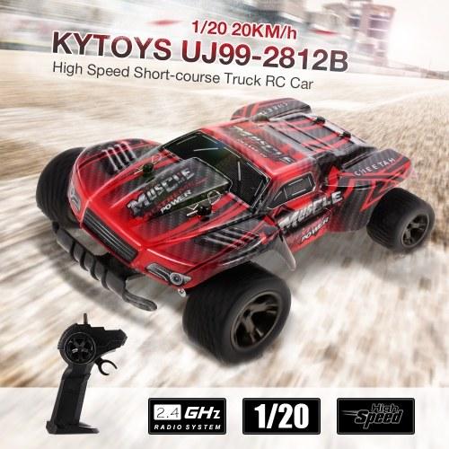 KYTOYS UJ99-2812B 1/20 2.4G 20KM/h High Speed Short-course Truck RC Car Image