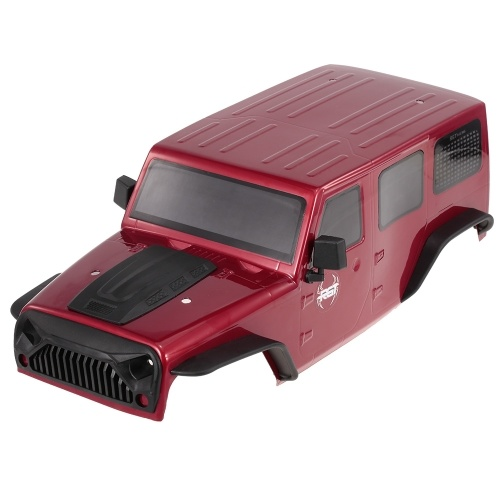 RGT Karosserie für 1/10 RGT 86100 HSP HPI Traxxas Redcat RC4WD Tamiya Jeep Wrangler