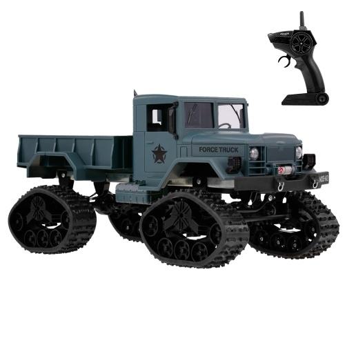 Fayee FY001B 1/16 2.4 GHz 4WD 3000G Carregar Pneu Da Neve Caminhão Militar Off-road Crawler RC Carro