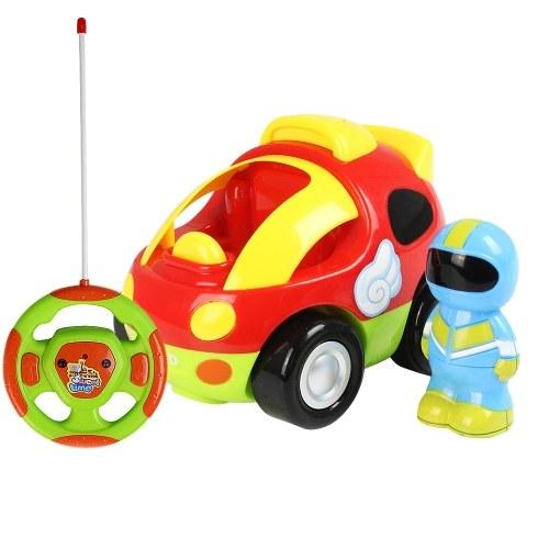 RC-Cartoon-Rennwagen mit Musik und Lights Electric Radio Control Toy
