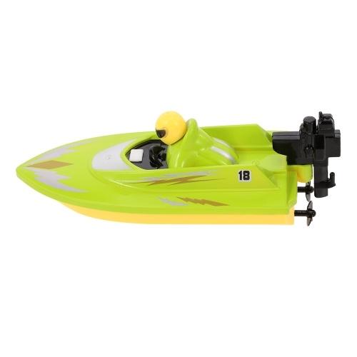 HUANQI 2.4G Портативный высокоскоростной мини-RC Racing Boat Kids Gift Intelligent Toys