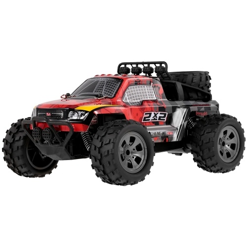KY-1886B 2.4GHz 1-18 2WD Big Wheel RC Car Off-Road Buggy Pickup Truck for Kids Beginners