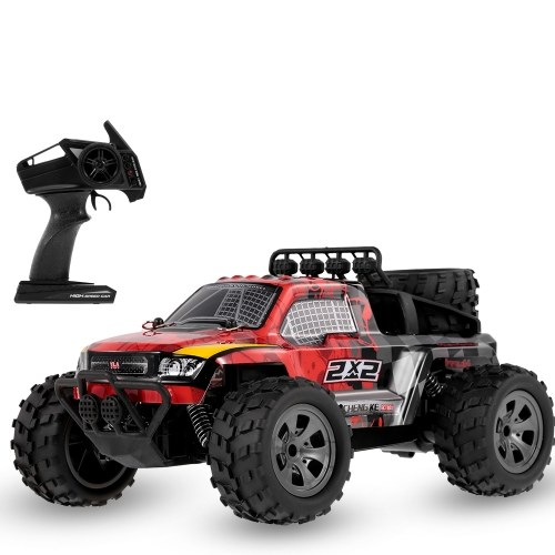 KY-1886B 2.4GHz 1/18 2WD Big Wheel RC Car Off-Road Buggy Pickup Truck for Kids Beginners