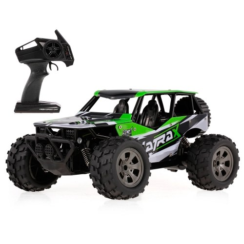 KY-1812B 2.4GHz 1/18 2WD Big Wheel RC Car Off-Road Crawler for Kids Beginners