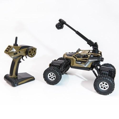 CRAZON 1/16 2,4G 480 P Kamera WiFi FPV 2CH 4WD Doppel Lenkantrieb Splash Wasserdicht RC Crawler Auto