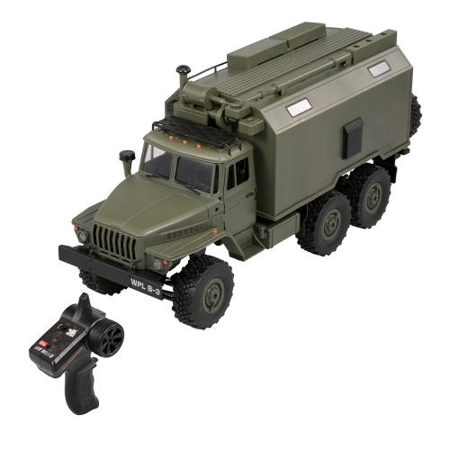 WPL B-36 1:16 RC Car Military Command Vehicle-RTR
