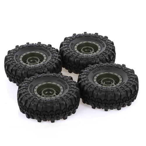 4pcs AUSTAR 110mm 1.9 Inch Rim Rubber Tyre Tire Wheel фото