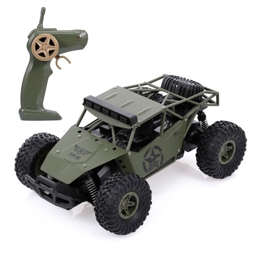 SUBOTECH 1/16 RC Military Truck Crawler Army Car