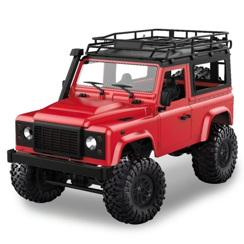 MN-D90 Rock Crawler 1/12 4WD 2.4G Remote Control High Speed Off Road Truck RC Car Led Light RTR Image
