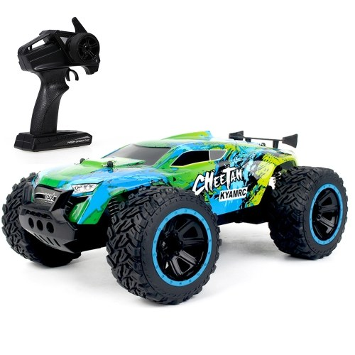 KY-2011A 1/14 grande pé rc rastreador rc carro off-road 2.4g 2wd rc caminhão rtr