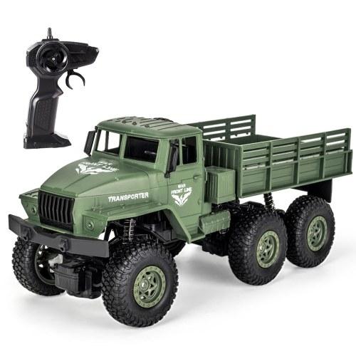 JJR / C Q68 2,4 GHz 6WD 1/18 RC Offroad Militär LKW RC Spielzeug