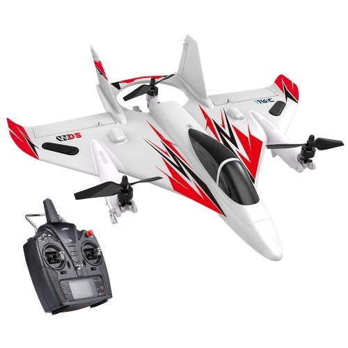 JJRC MO2 2.4G 6CH 3D / 6G RC Flugzeug Brushless Multi-Motor Vertical Takeoff Aircraft